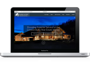 Custom real estate website
