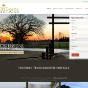 ranch real estate web design