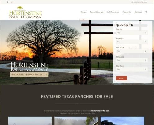 ranch real estate web design