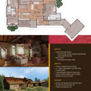 Real Estate Listing Brochure back