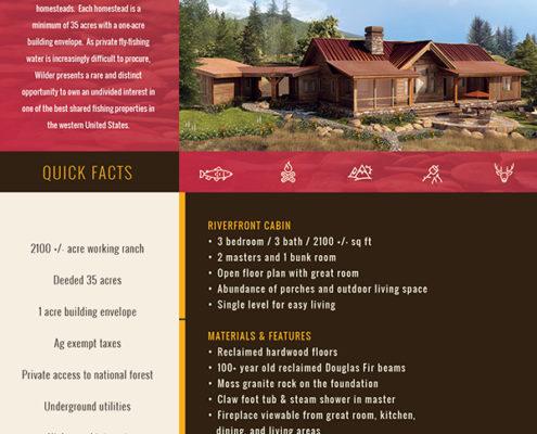 Real Estate Listing Brochure front