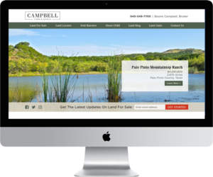 Land Broker Website