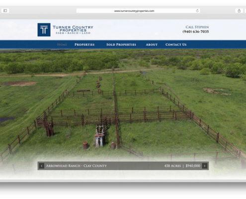 Land Broker Web Design- Turner Country Properties