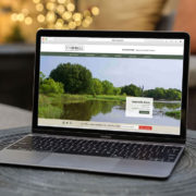Custom land broker website