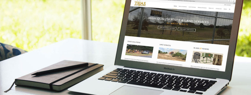 Tejas Website Design for Farm and Ranch