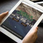 Website Design for Trophy Whitetail Hunt