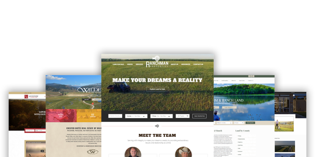 New Website Platform for Land Brokers