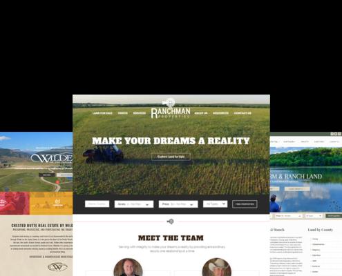 New Website Platform for Land Brokers