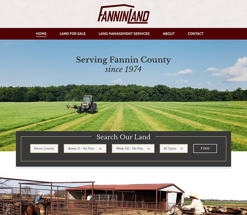 Website Design - Fannin