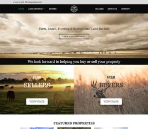 Great plains website design