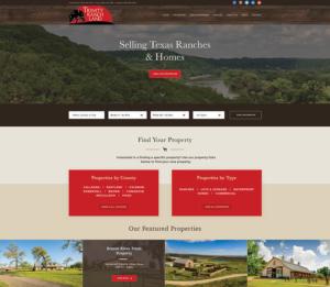Trinity website design