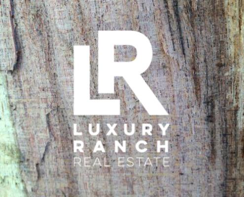 Luxury Ranch Real Estate Logo