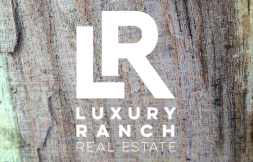 Luxury Ranch Real Estate Logo